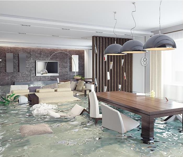 Water Damage SERVPRO can treat your water damage