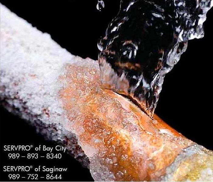 Water Damage Frozen Pipes and Indoor Flooding