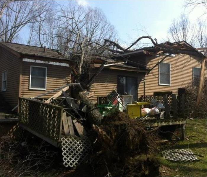 "Storm Damage Do you have Storm Damage? We're here to make it ""Like it never even happened"""