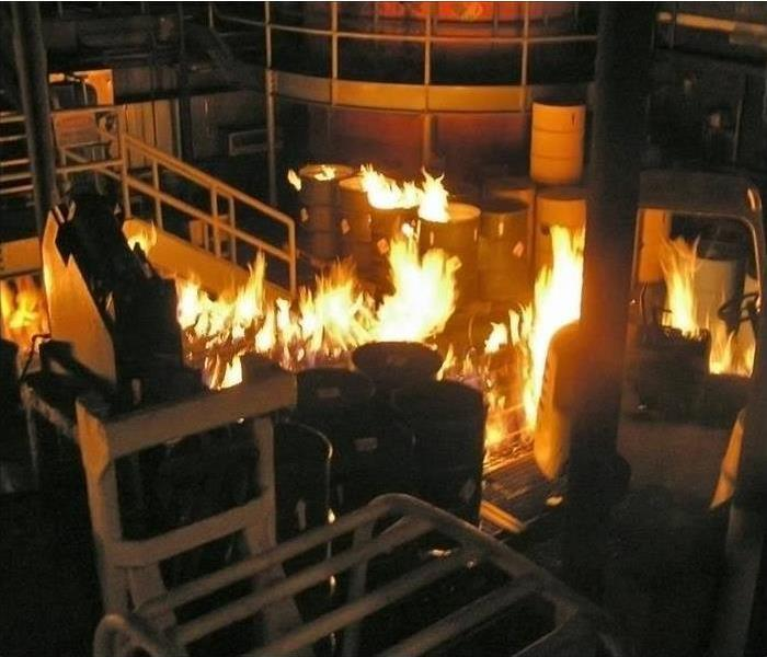 Commercial Call SERVPRO for Commercial Fire Damage Restoration and Repair Service